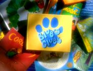 Blue's Clues Season 1-4 Logo