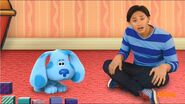 Blue s clues and you sad day with blue