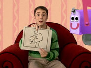 Blue's Clues Mailbox Drawing