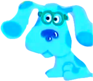 Blue from blue's clues blue's art time activities