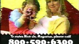 Nick Jr. Commercials (January 17 & 19, 2001)