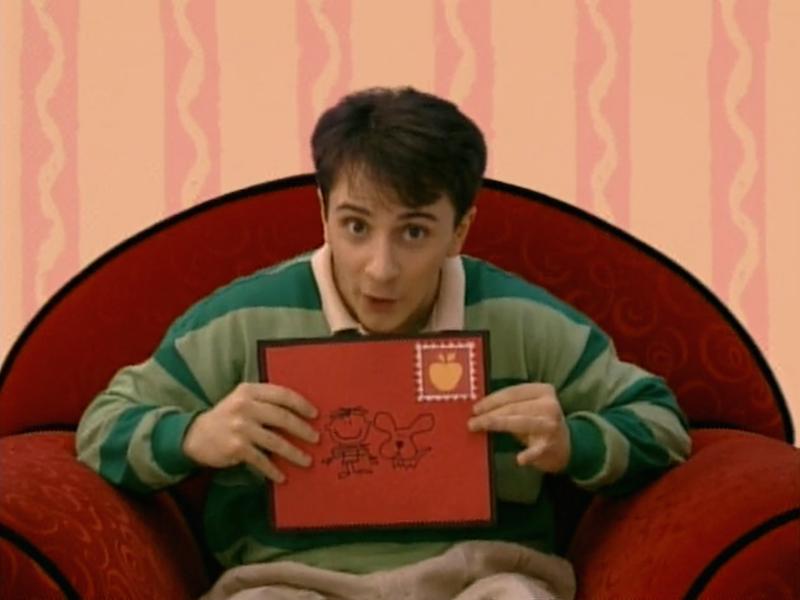 We Just Got A Letter Blue S Clues Wiki Fandom Powered