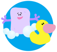 Blue's Clues Slippery Soap with Rubber Duck