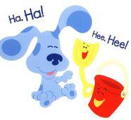 Blue's Clues Pail and Shovel Laughing