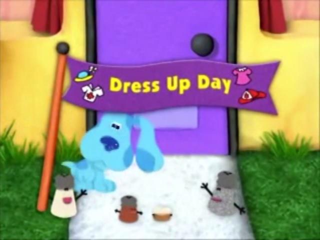 Dress Up Day Blue S Clues Wiki Fandom Powered By Wikia