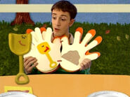 Blue's Clues Shovel Thankful Book