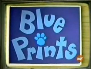 """Blue Prints"" Title Card"