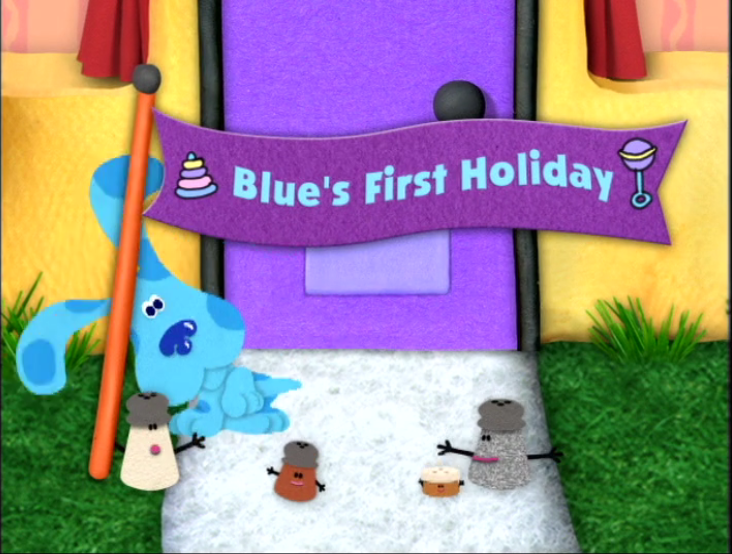 Blue S First Holiday Blue S Clues Wiki Fandom Powered