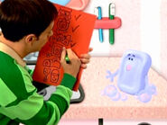 Blue's Clues Slippery Soap with Checklist