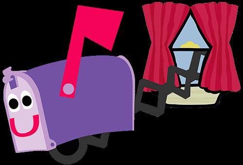 mailbox blues clues