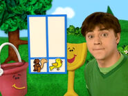 Blue's Clues Pail with Chart
