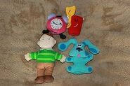 Blue's Clues Finger Puppet Set by Eden