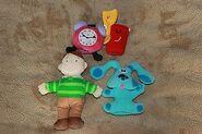 Blue's Clues Finger Puppet Set by Eden
