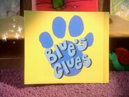 Blue's Clues Season 5 Closing Logo
