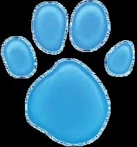 Blue's Paw Print (Reboot) 1