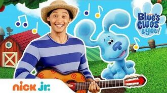 Old McDonald Nursery Rhyme Sing Along w Josh & Blue 🐷Stay Home With Me Blue's Clues & You 🐷