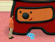 Blue's Clues Sidetable Drawer with Mini Blue and Joe