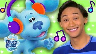 Josh & Blue's Music Playlist! Ep. 3 Nursery Rhymes + Kids Songs Blue's Clues & You!
