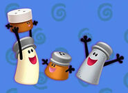 Blue's Clues Cinnamon, Paprika, Mr Salt and Mrs Pepper