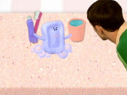 Blue's Clues Slippery Soap with Toothpaste