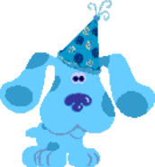 Blue from blue's birthday adventure (pc game) 2
