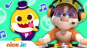 Music Playlist w DJ Rubble 5 ft Baby Shark & More! Nick Jr.