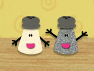 Blue's Clues Mr. Salt and Mrs. Pepper