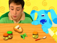Blue's Clues Cinnamon Sleeping