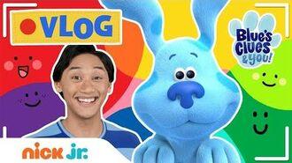 Josh & Blue's VLOG! 📹 Ep 4 Soccer Tricks, Gopher Game & Color Song! 🎨 Nick Jr.