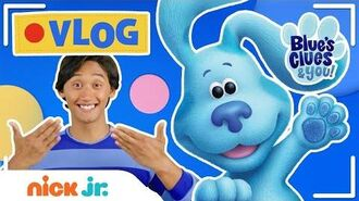 Blue's Clues and You ASL Lesson, Nursery Rhymes & Mail Time (Vlog 5) Nick Jr.