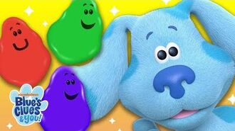 Learn Colors w Josh & Blue Color Skidoo Blue's Clues & You!