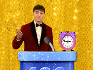 Blue's Clues Tickety Tock and Joe as Hosts