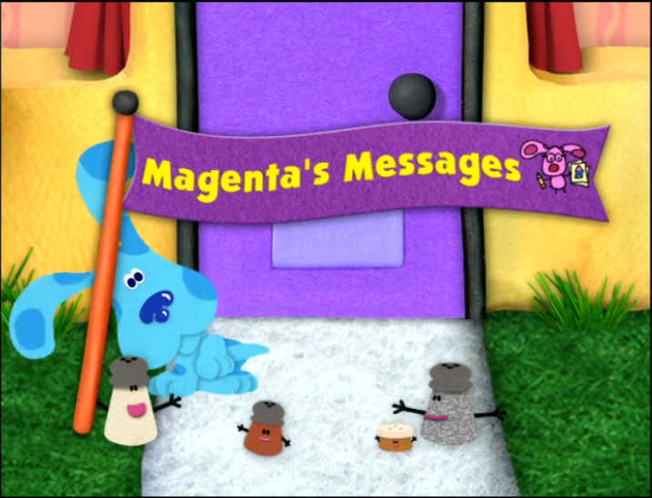 Magentas Messages Blues Clues Wiki Fandom Powered By Wikia