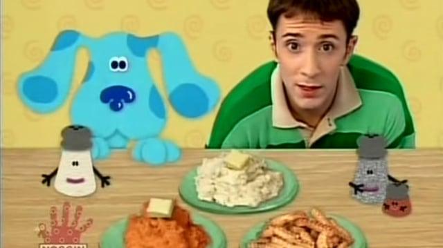 Video Blue S Clues 3x08 Thankful Blue S Clues Wiki