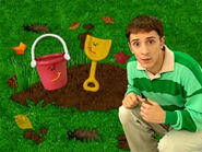 Blue's Clues Shovel and Pail with Steve