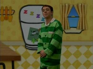 Blue S Big Pajama Party Blue S Clues Wiki Fandom Powered By Wikia