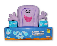 Blue's Clues Slippery Soap Bath Sponge - 2000