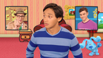 Josh Learns How to Play Blue's Clues