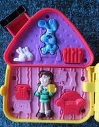 Blue's Clues House Playset - Mattel 2002