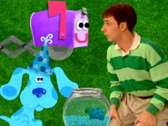 Blue's Clues Mailbox and Turquoise