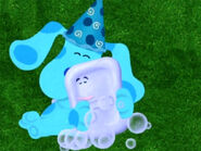 Blue's Clues Slippery Soap Hugging Blue