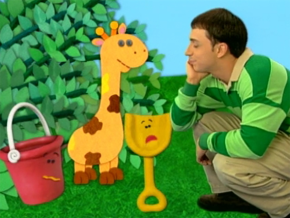 Image Blues Clues Shovel and Pail with Giraffejpg Blues Clues