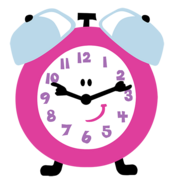 Blue's Clues Tickety Tock Clock Standard