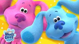 Magenta Cha-Cha Blue's Dances Moves Blue's Clues & You!