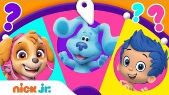 Adventures w PAW Patrol, Blue's Clues & You, & Dora! 🤩 Spin the Wheel of Friends Ep. 8 Nick Jr.