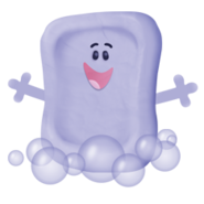 Blues-Clues-Slippery-Soap-happy-art-And-You