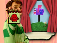 Blue's Clues Mailbox Clue