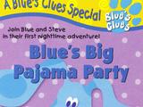 Blue's Big Pajama Party (VHS)