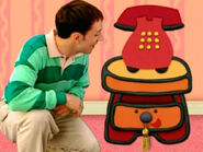 Blue's Clues Sidetable Drawer with Tassel