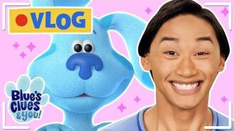Play Hide And Seek + Music Guessing Game w Blue! Vlog 10 Blue's Clues & You!
